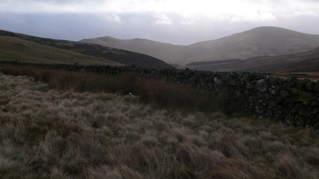 Boundary wall looking to Scald Law