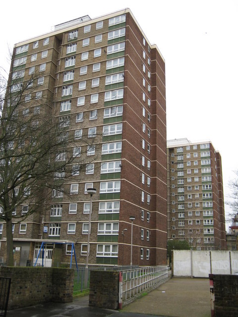 Bloomsbury: Chancellors and Babington Courts, WC1