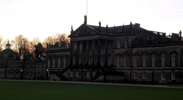 Front elevation Wentworth Woodhouse