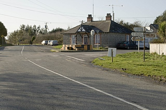 Seven Houses cross roads