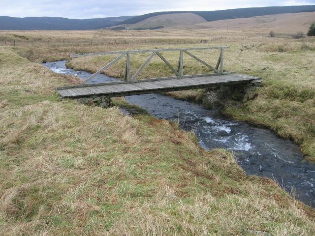 Bridge over Glenochar Burn