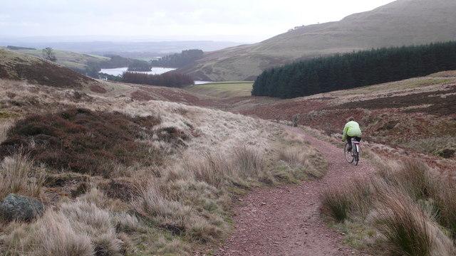 Path descending to Glencorse