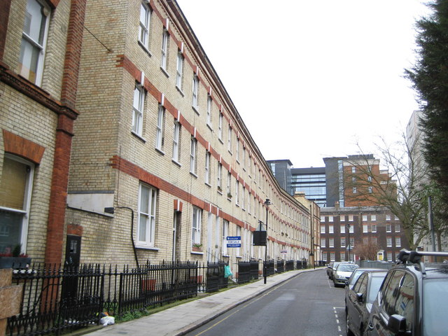 Bloomsbury: Orde Hall Street, WC1