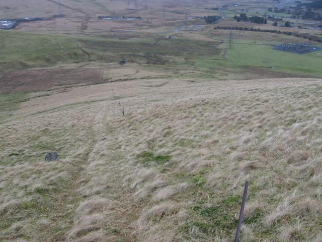 Watchman Hill towards Elvanfoot