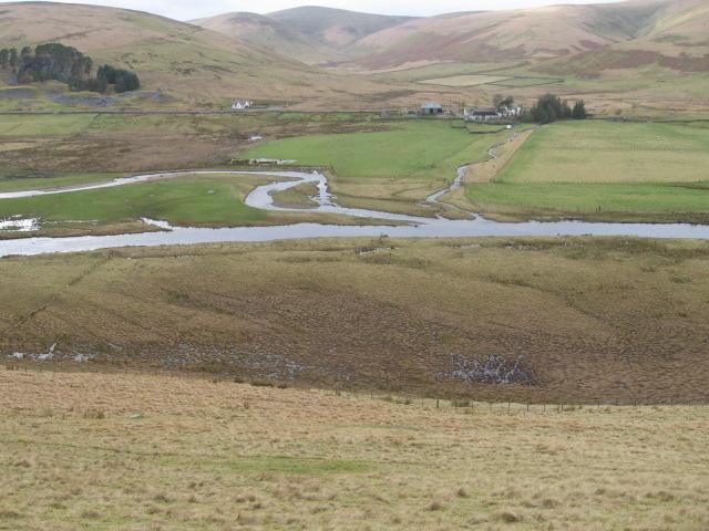 Across Daer Water to Glenochar