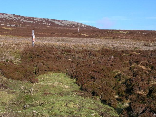 Moorland above White Band
