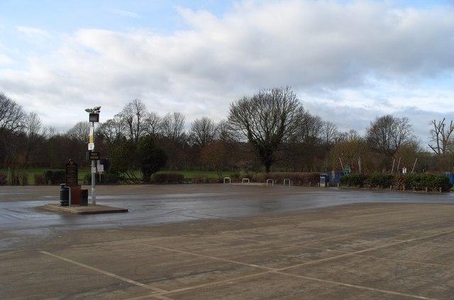 Stourport Car Park After 2008 Floods
