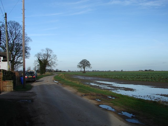 Road and Field Near Greystones