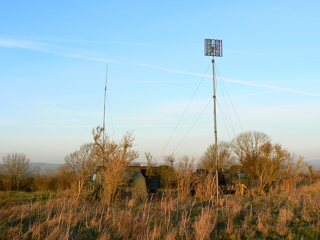 Military communications centre, Redhorn Hill, south of Urchfont