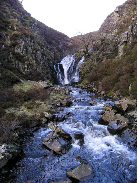 Arngill Beck and the Arngill Force