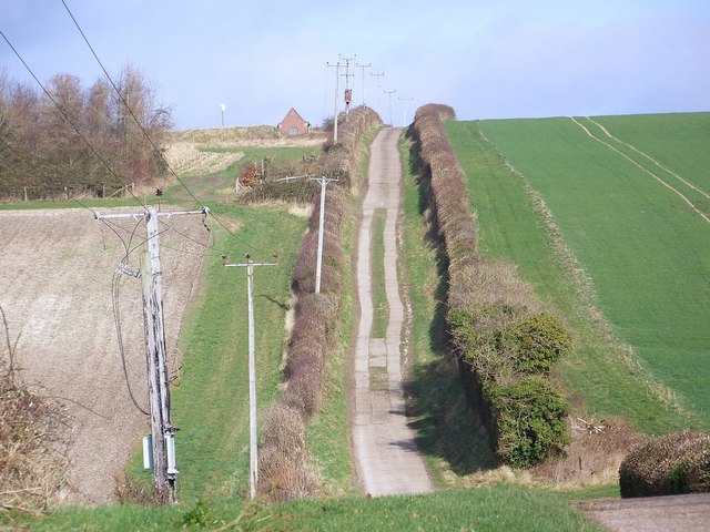 Track to Flamstone Farm