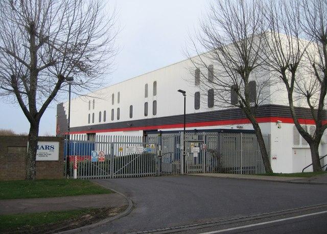 Mars machine factory entrance