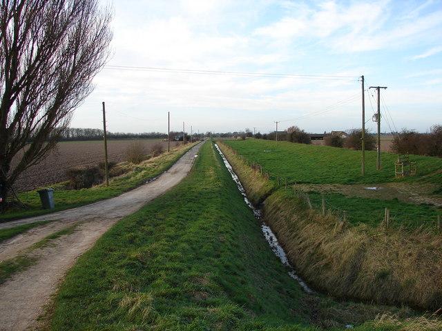 Sea Lane from Sea Bank