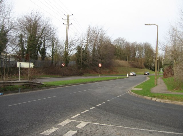 Gresley Road as seen from Armstrong Road