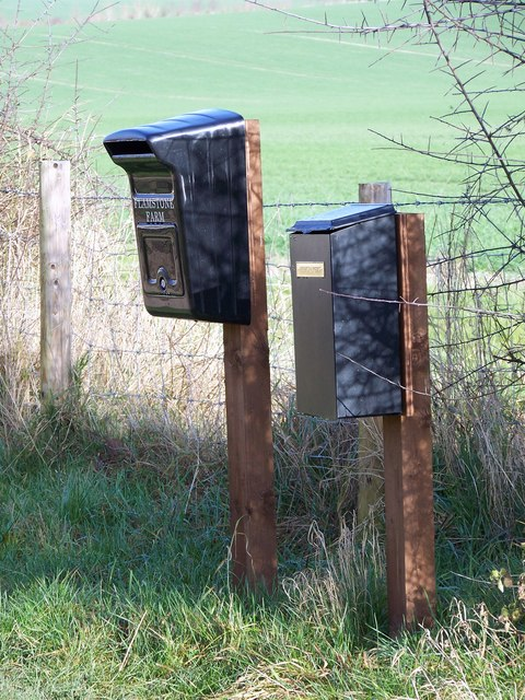 Papers and post for Flamstone Farm