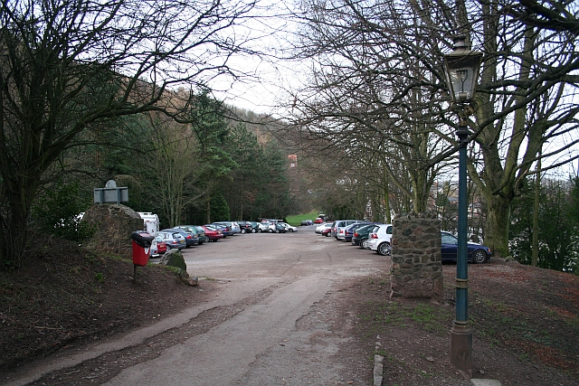 Car Park near North Malvern Quarry and Clock Tower