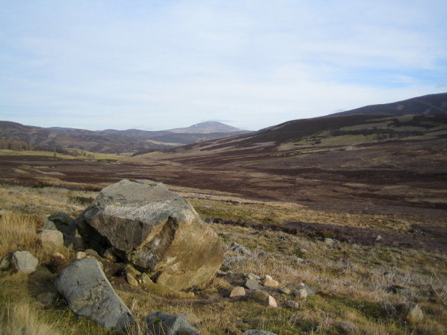 Looking towards Coulachan Burn
