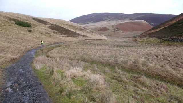 Path towards Bavelaw Castle