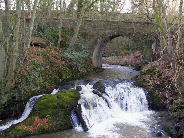 Arbirlot Bridge and Falls