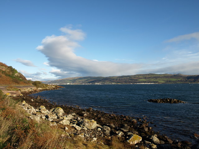 Near Davy's Dub, Great Cumbrae Island.