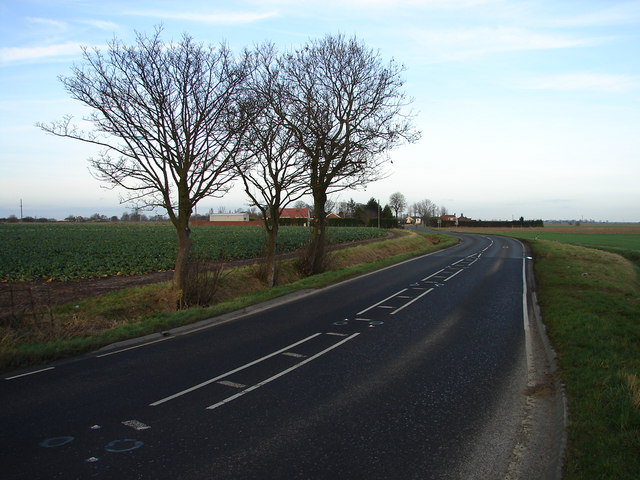 A52 Near Friskney Tofts