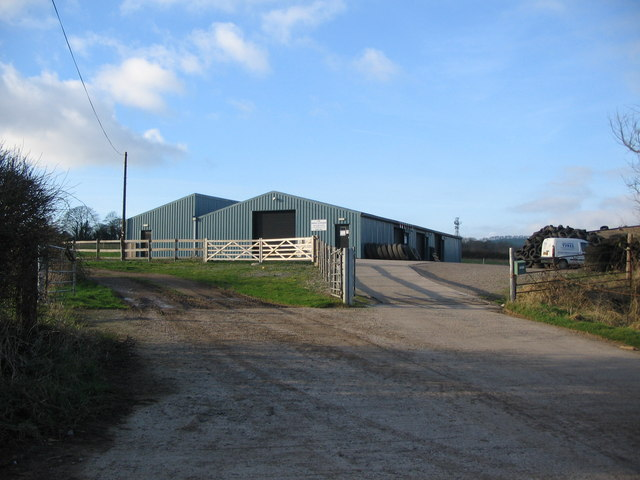 Buildings off Godminster Lane