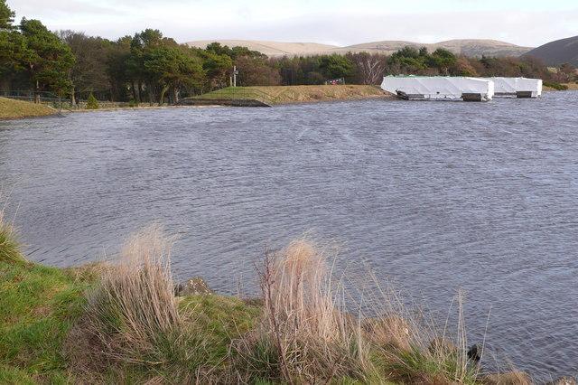 Threipmuir Reservoir Dam