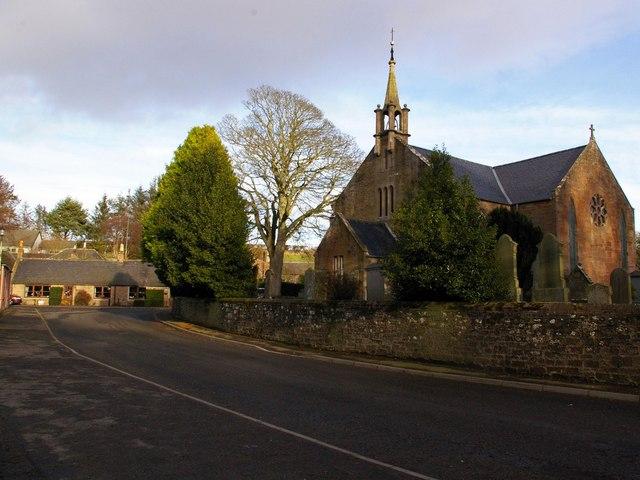 Arbirlot Church and Village