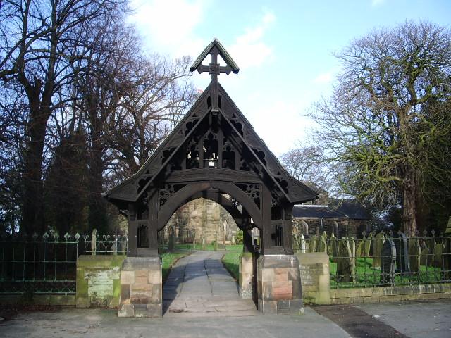 St Mary's Parish Church, Penwortham, Lych Gate