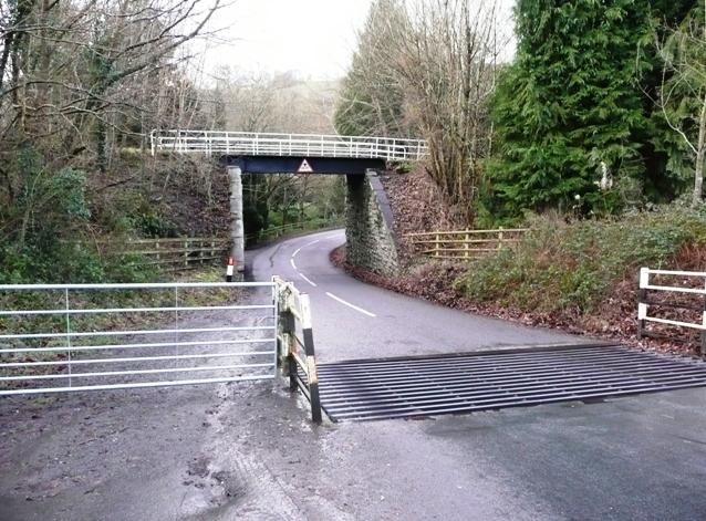 Former railway line, Erwood