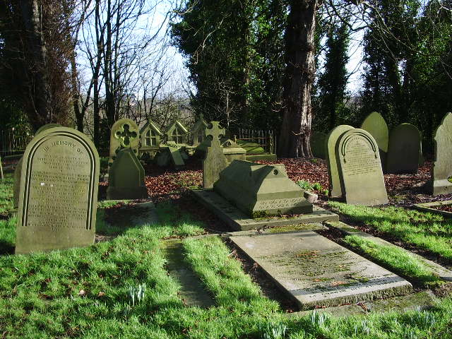 St Mary's Parish Church, Penwortham, Graveyard