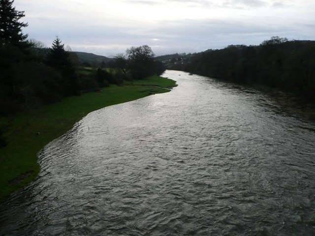 River Wye looking south-east
