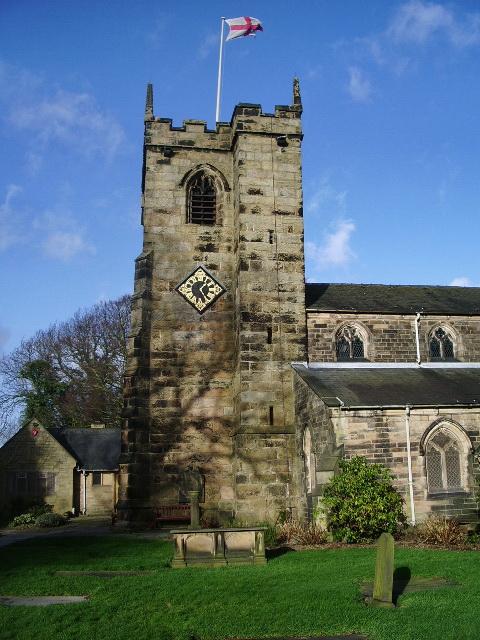 St Mary's Parish Church, Penwortham, Tower