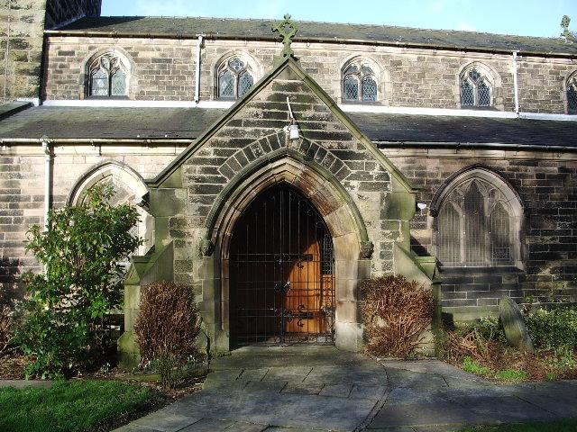 St Mary's Parish Church, Penwortham, Porch