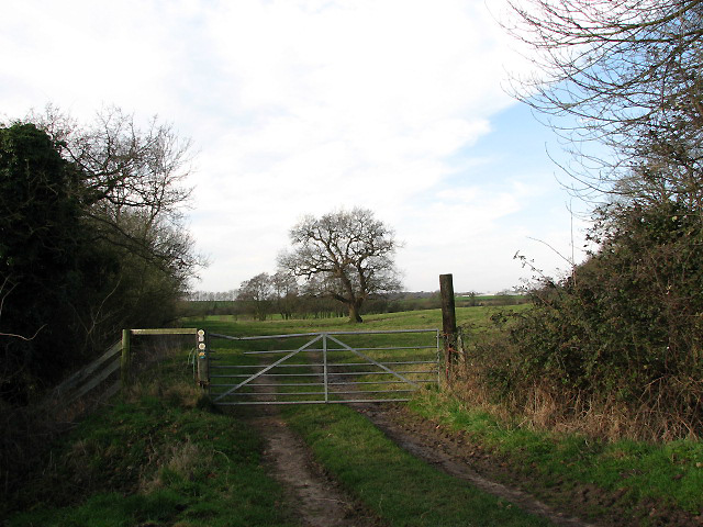 Footpath to the River Tiffey