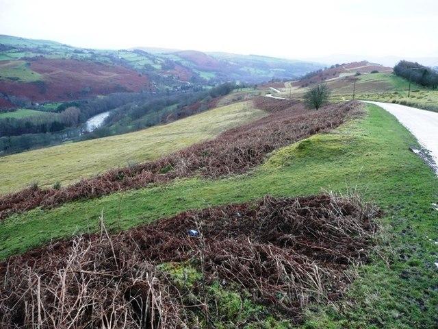 Wye valley at Twmpath