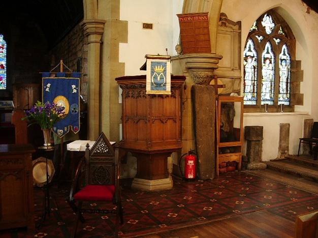 St Mary's Parish Church, Penwortham, Pulpit