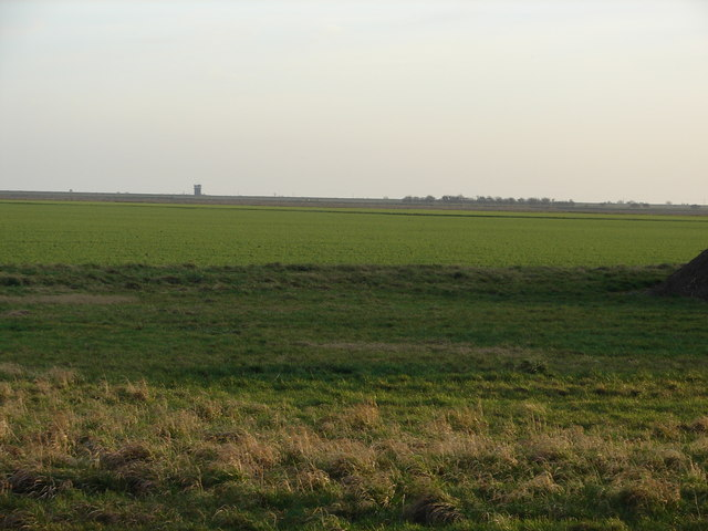 Fields With Control Tower