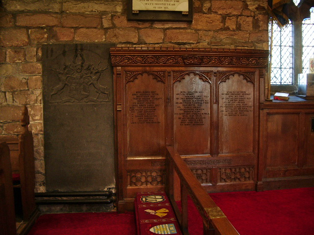 St Mary's Parish Church, Penwortham, WWI Memorial