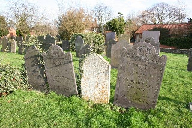 Slate headstones