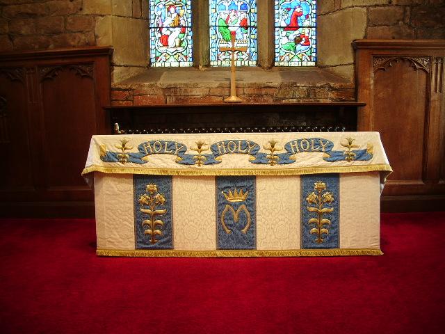 St Mary's Parish Church, Penwortham, Altar