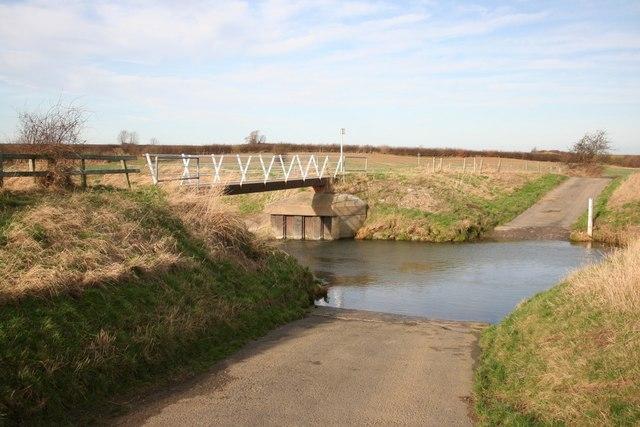 Fallow Lane ford