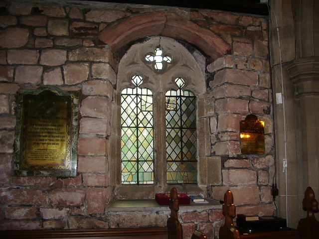 St Mary's Parish Church, Penwortham, Window