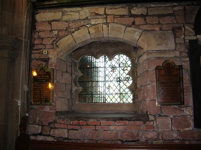 St Mary's Parish Church, Penwortham, Window
