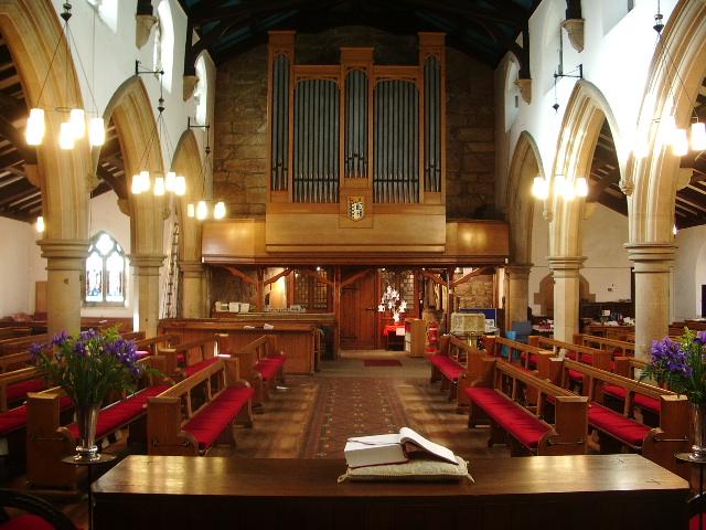 St Mary's Parish Church, Penwortham, The Nave
