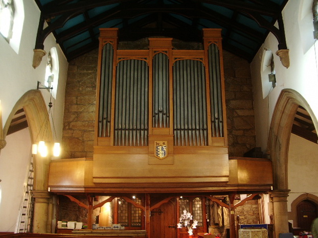St Mary's Parish Church, Penwortham, Organ