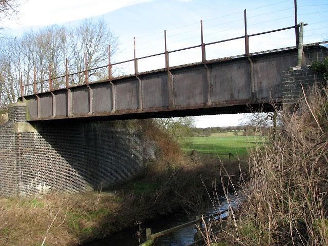 Railway bridge over the River Tiffey
