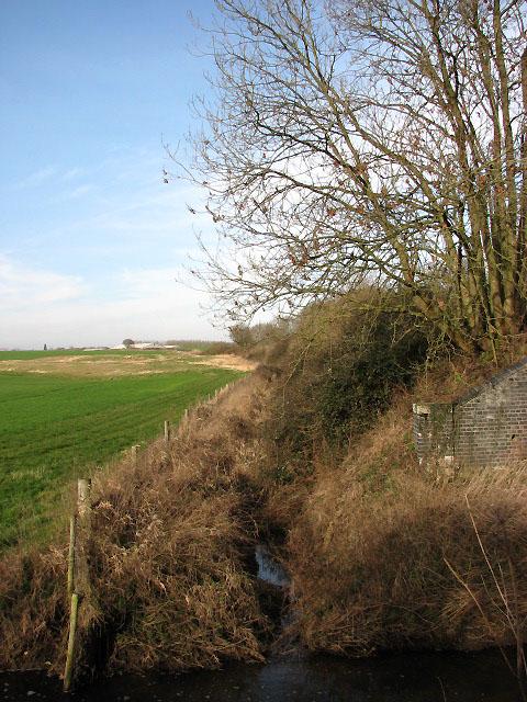 View northwest along railway line