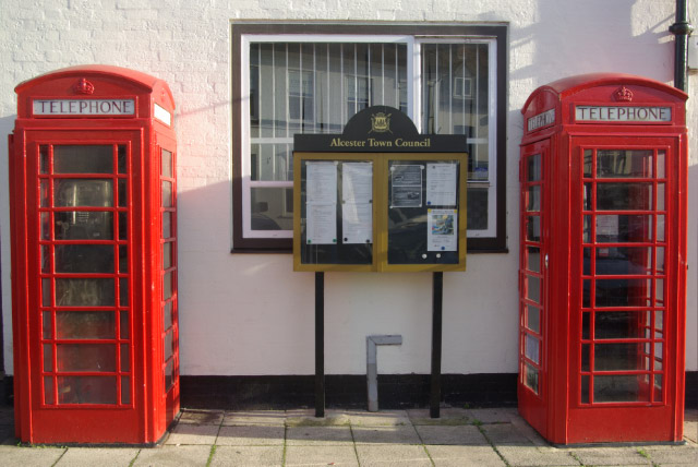 Telephone Boxes, Alcester