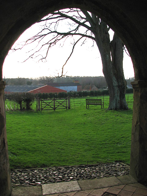 Church Farm viewed from church porch